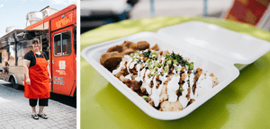 Eat like a local from one of the city's many food trucks.