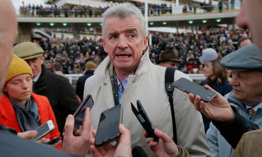 Michael O'Leary has been the centre of attention since his decision to wind down his extensive racing operation.