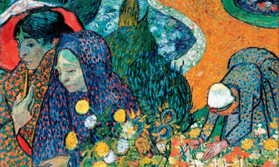 Memory of the Garden at Etten, 1888, by Vincent van Gogh.