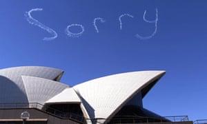 Sorry Day in Sydney in 2000.