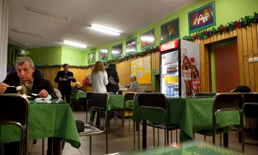An older-style state-subsidised milk bar in Warsaw serving up cheap, nutritional food.
