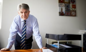 The Conservative MP Philip Davies in his Shipley constituency office.