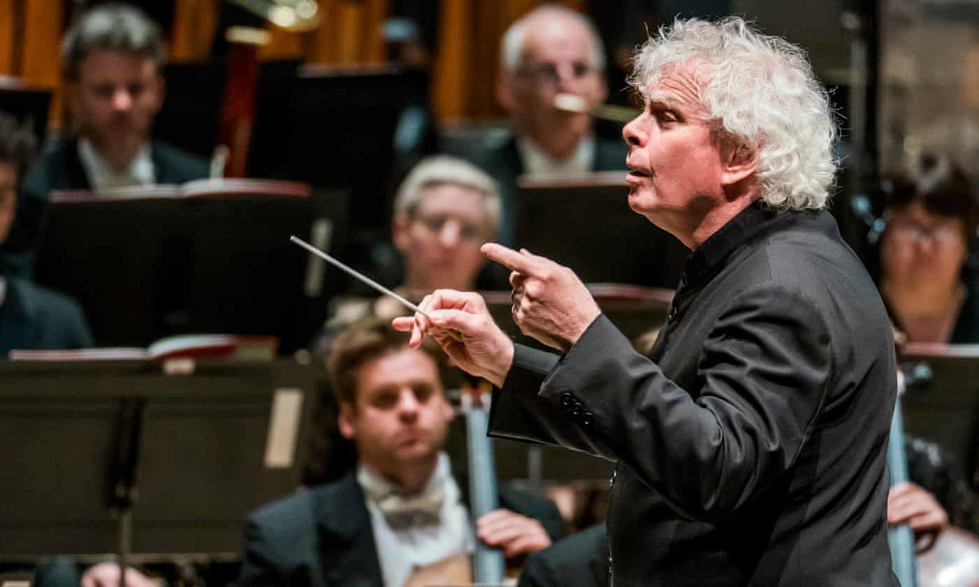 Simon Rattle on applause, female conductors, and his passion for Liverpool FC