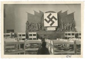 Conference room in Lenin House, Minsk, 1941