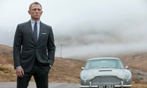James Bond is synonymous with smart, natty tailoring