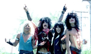 Mötley Crüe in 1984 … a reputation for excess.