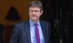 Greg Clark leaves 10 Downing Street
