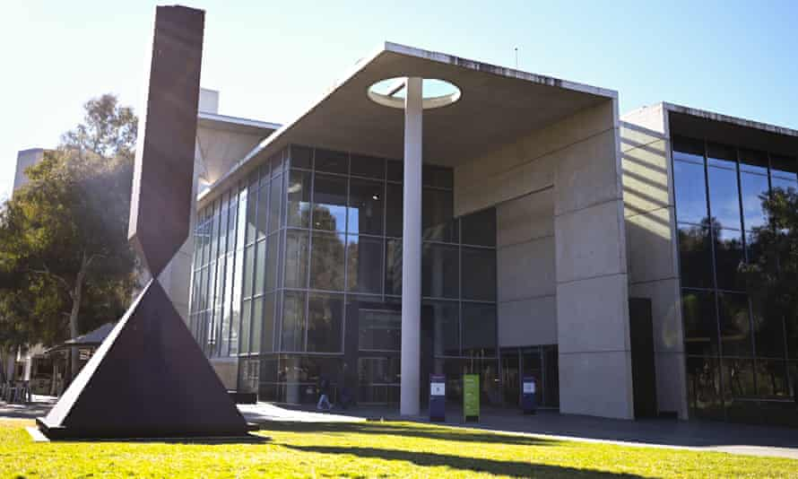 The National Gallery of Australia in Canberra