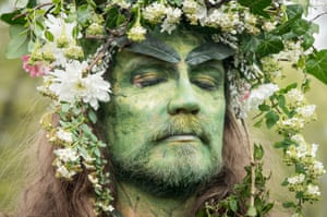 One of the Greenmen of Glastonbury
