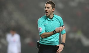 referee ben toner dropped from blackpool game after oystons court