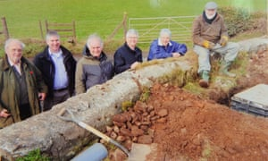 Villagers from Michaelston y Fedw, population 300, dug miles of trenches to install their own fibre broadband cables.