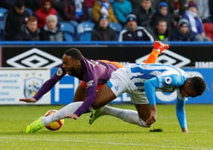 Kongolo takes out Sterling.