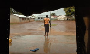 A former female child soldier at the rehabilitation centre in Gulu, northern Uganda.