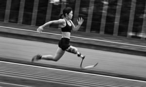Sport, story, second prize: Adam Pretty, Hitomi Onishi of Japan in action during sprint and long jump training at Konosu athletics stadium in Tokyo, Japan.