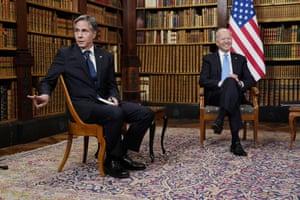 President Joe Biden and Secretary of State Antony Blinken.
