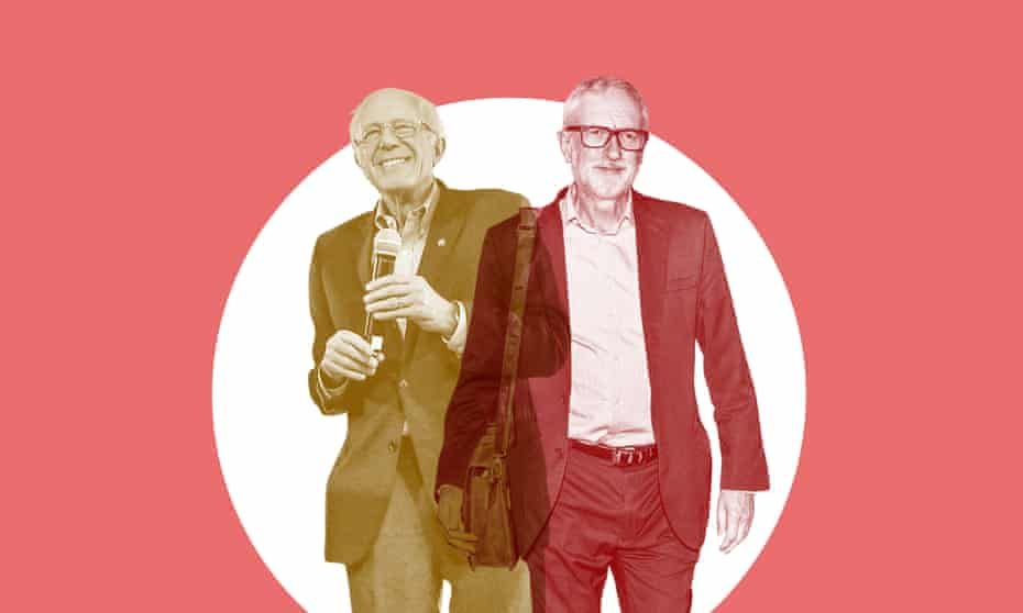 Jeremy Corbyn and Bernie Sanders have similar histories and similar messages, but where do they differ?