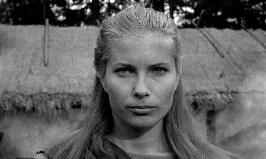 Gunnel Lindblom in The Seventh Seal, 1957, directed by Ingmar Bergman.