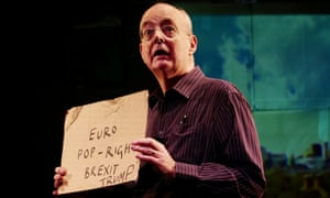 A change of tactics … Trying It On written and performed by David Edgar at the Royal Court.