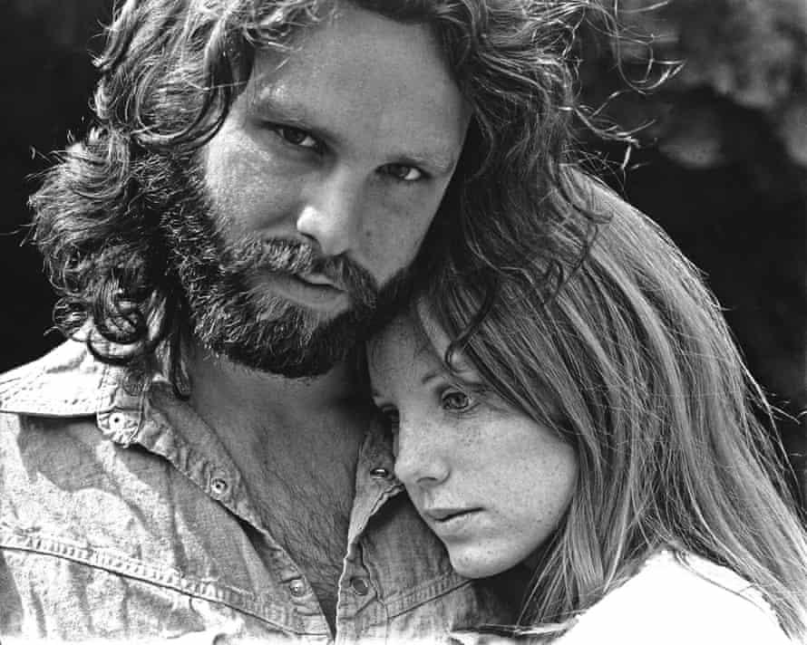 Morrison with his partner Pamela Courson, 1969.