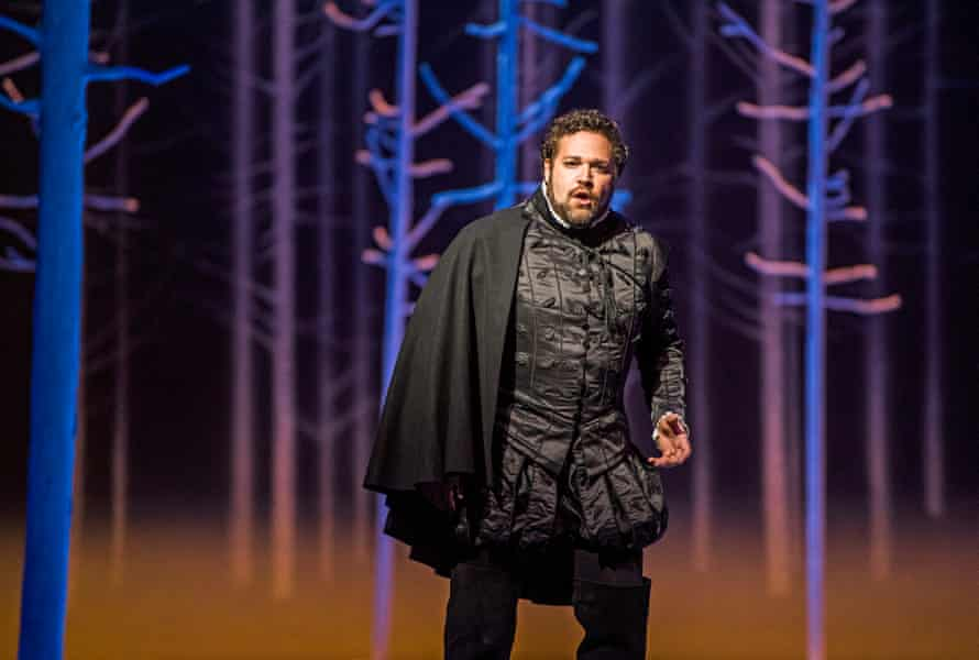 Bryan Hymel in the title role of Don Carlos at the Royal Opera House.