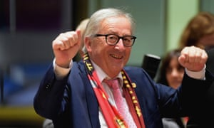 Jean-Claude Juncker, president of European commission
