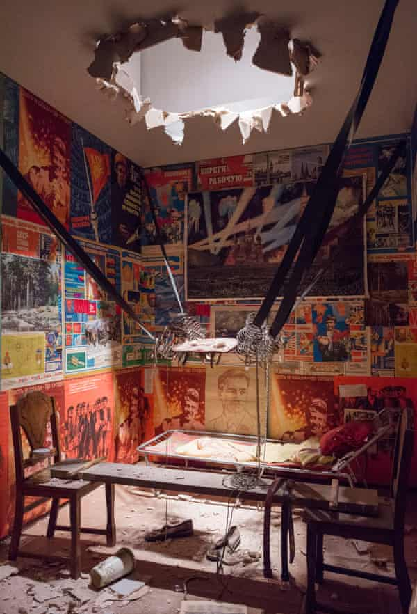 'Exhilarating': The Man Who Flew into Space from His Apartment, 1985 by Ilya and Emilia Kabakov.