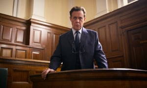 Alex Jennings as Peter Bessell in A Very English Scandal.