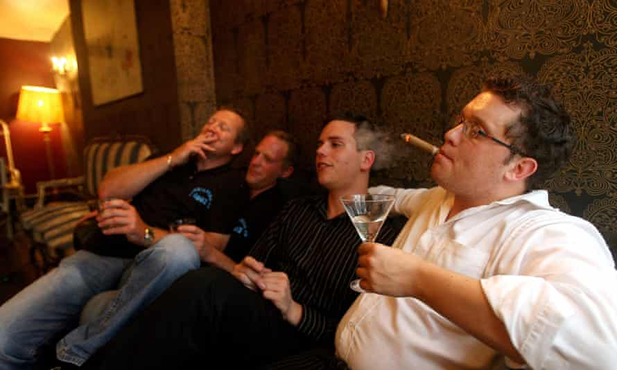 Some men enjoy a post-work drink – but where are the women?