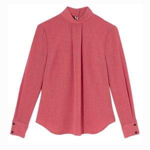 The blouse Softly pleated; £170, cefinn.com.