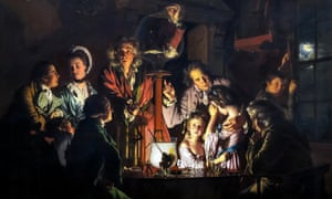 An Experiment on a Bird in the Air Pump, by Joseph Wright of Derby, 1768.