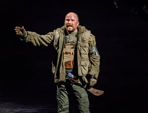 This production of Macbeth will be broadcast as part of National Theatre Live