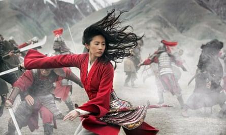 Liu Yifei di Mulan