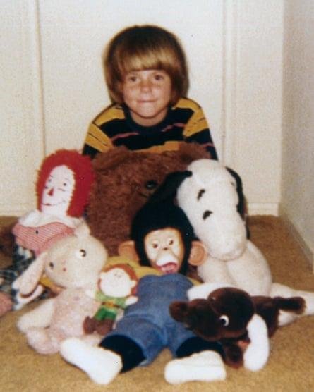 Tig Notaro as a child.