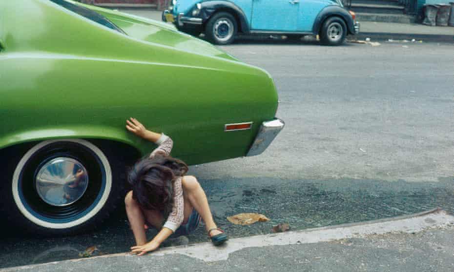 New York, 1980 by Helen Levitt.