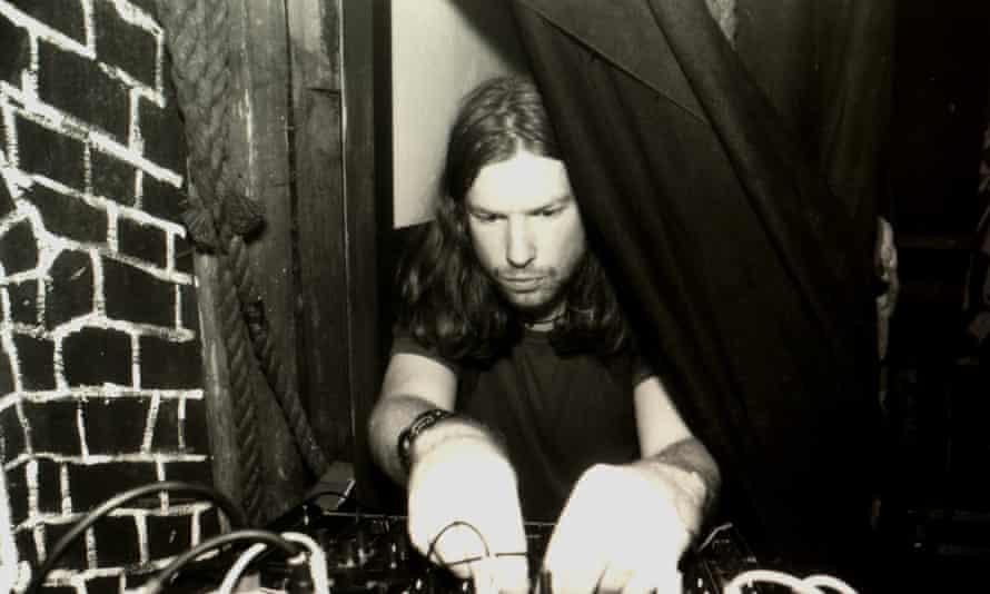 Richard D James, AKA Aphex Twin.