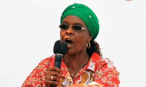 A Zimbabwean MP is being prosecuted for 'insulting' Grace Mugabe via remarks that were directed at another party member.