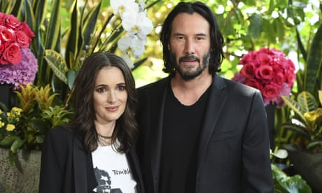Francis Ford Coppola agrees Winona Ryder and Keanu Reeves might be married