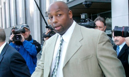 Dana Stubblefield, pictured in 2008, retired from the NFL in 2004