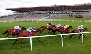 Ryan Moore and A La Voile (right) on their way to winning at Sandown last month.