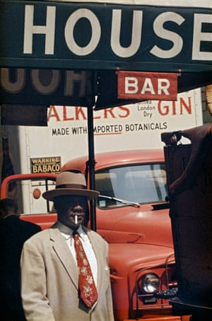 Harlem, 1960, by Saul Leiter