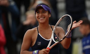 Heather Watson says the Rio Olympics are her 'main goal' this year after beating Nicole Gibbs to reach the second round of the French Open.