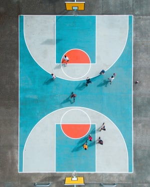Balmoral Ball, shot on Phantom 3 Pro. Court design by Parklife NZ