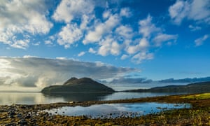 The Holy Isle, home to the Centre for World Peace and Health and its mindful retreat.