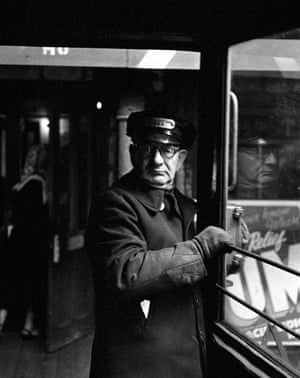 Conductor, Third Avenue El, early 1950's