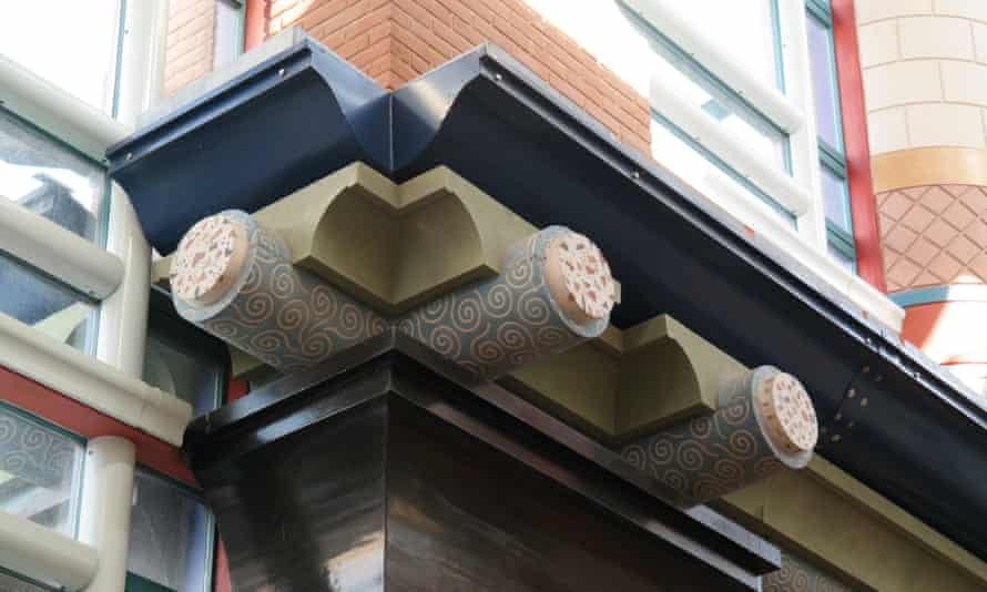 Nougat-like … an example of 'blitzcrete' at the Judge Insitute in Cambridge.