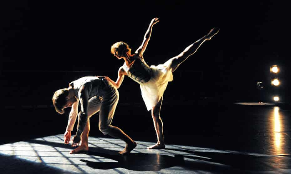 Pierre Tappon and Sonja Peedo in Light Flooding Into Darkened Rooms by Richard Alston at the Place, London, in 2010.