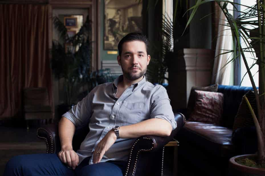 Alexis Ohanian, entrepreneur, investor, and a co-founder of Reddit, at the Soho Grand in NYC, October 2019.