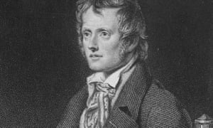 Detail of an engraving of the great English nature poet John Clare (1793-1864).