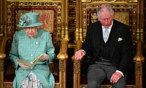 The Queen delivers the Queen's speech during the state opening of parliament, 19 December 2019: 'Stripped of waffle, the speech marks the emphatic arrival of the new politics, that of post-ideological populism.'