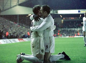 Harry Kewell and Mark Viduka
